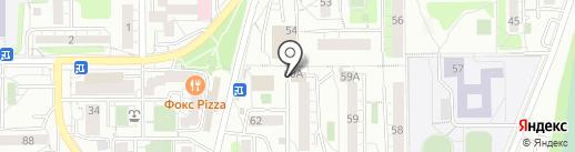 Профит на карте Иркутска