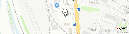 Швей City на карте Иркутска