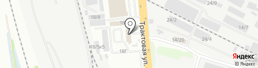 Главкартон на карте Иркутска