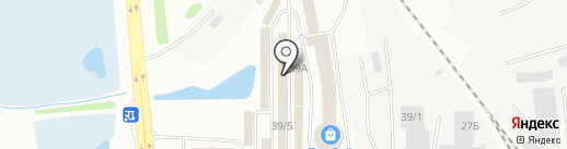 Алана на карте Иркутска