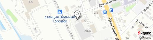 СтройЛига на карте Иркутска