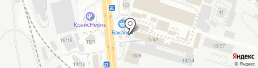Арника-пром на карте Иркутска