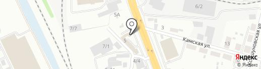СНАБ38 на карте Иркутска