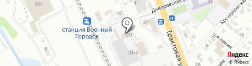 ИТМК на карте Иркутска