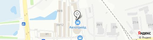 Строй Дом на карте Иркутска