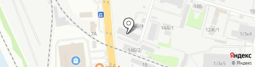 Иркутск-Профиль на карте Иркутска