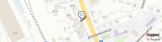 SHANTUI на карте Иркутска