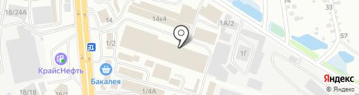 Ангро Сибирь на карте Иркутска