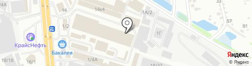 Дюна-АСТ на карте Иркутска