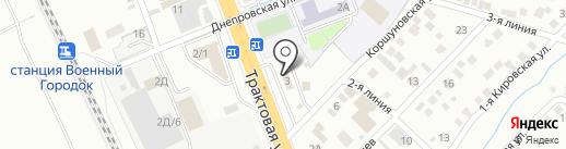 IrkShina на карте Иркутска