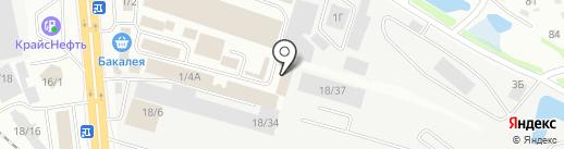 Шаттл-И на карте Иркутска