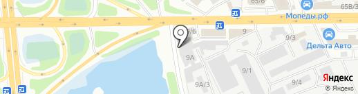 ТехноРесурс на карте Иркутска
