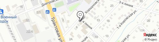 СТК-Сервис на карте Иркутска