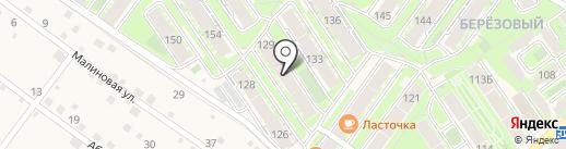 Рябинка на карте Марковой