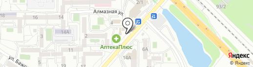 Сладкоежка на карте Иркутска