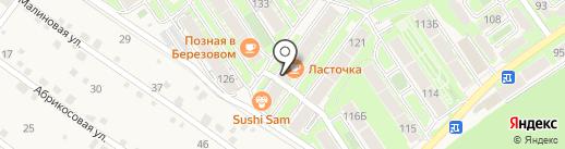 Лафка на карте Марковой