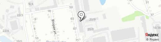Винокурцева Т.В. на карте Иркутска