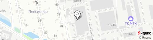 СибТрансСнаб на карте Иркутска