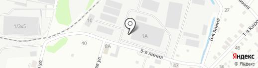 АМБАРЪ на карте Иркутска