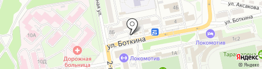 Салон цветов на карте Иркутска