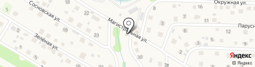 Магистральный на карте Марковой
