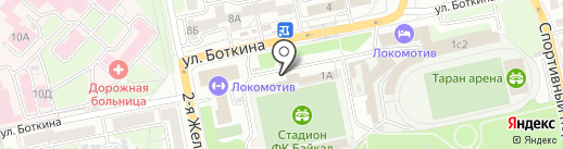 АРТИSTyle на карте Иркутска