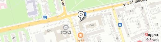 Восточно-Сибирская железная дорога, ФГУП на карте Иркутска