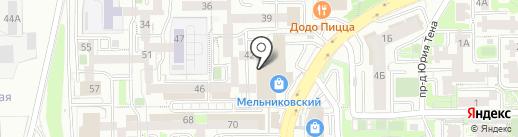 Спорт Стиль на карте Иркутска
