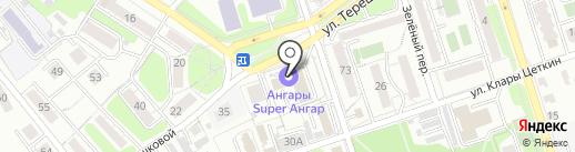 Адвокатский кабинет Удачина С.Н. на карте Иркутска