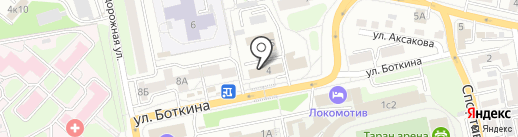 Крафт на карте Иркутска