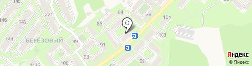 Янта у дома на карте Марковой