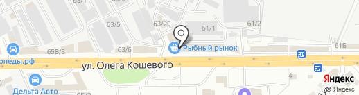 Тупурс А.А. на карте Иркутска