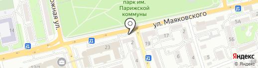 Среди цветов на карте Иркутска