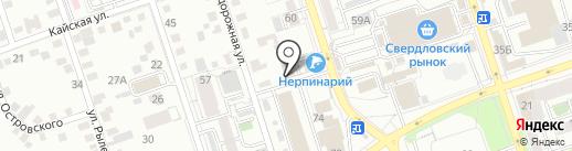 БАБРСНАБ38 на карте Иркутска