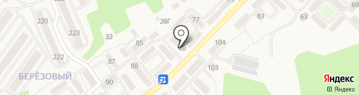 Сеть парикмахерских на карте Марковой