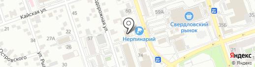 Многопрофильный медицинский центр для всей семьи Мед Алекс Байкал на карте Иркутска