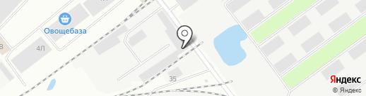 Халал на карте Иркутска
