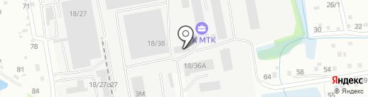 Арника-Пром-Сервис на карте Иркутска