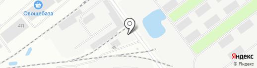 Мандарин на карте Иркутска