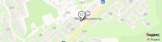 Фанат на карте Марковой