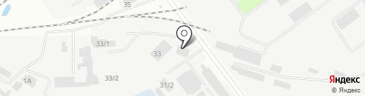 Столярок на карте Иркутска