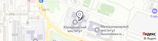 ЮНИКА на карте Иркутска