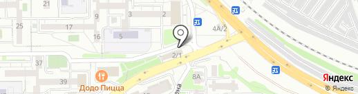 Фрутмаркет на карте Иркутска