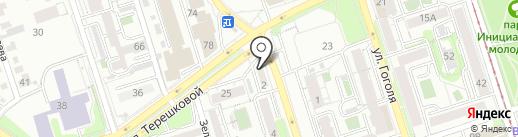 Ломбард Удачный на карте Иркутска