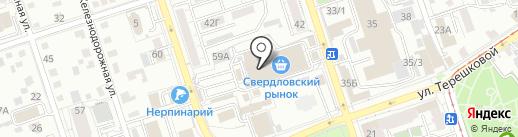 Магазин электрики на карте Иркутска