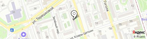 Петрович на карте Иркутска