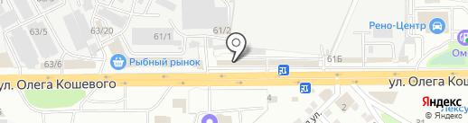 Т-К-Сервис на карте Иркутска