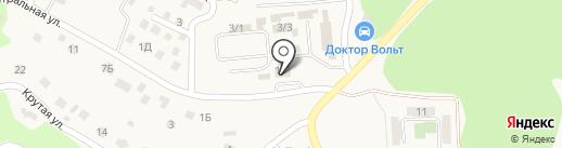 Юниор SKI на карте Марковой