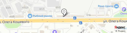 Бам авто на карте Иркутска