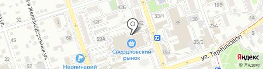 Романтика на карте Иркутска